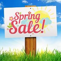 Spring Sales
